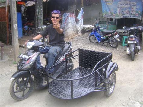 Modifikasi Motor Model Sepeda by The Modifikasi Sespan Sepeda Motor