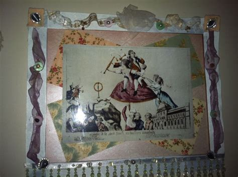 decoupage picture frame decoupage vintage picture frame diy i did