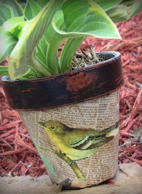 decoupage clay pots ideas 25 unique decoupage ideas ideas on decoupage
