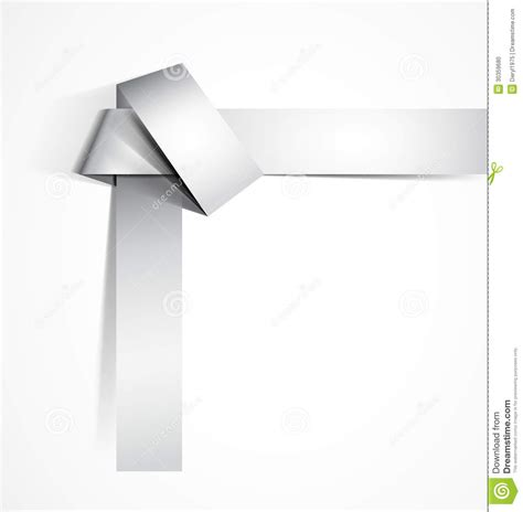 Origami Knot Stock Photo Image 30359680