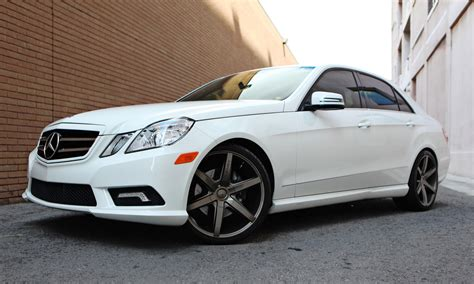 Mercedes E350 Rims by Lexani Custom Luxury Wheels Vehicle Gallery
