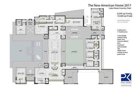 new home plans the 2017 new american home s features reflect modern