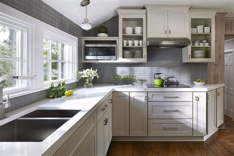 cottage style kitchen cabinets kitchen design ideas remodel projects photos