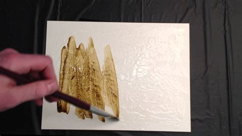 metallic acrylic paint on canvas how to create a faux metallic surface using acrylic paint