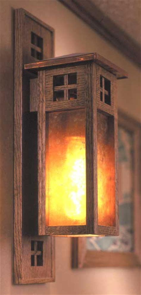 arts and crafts woodworking arts and crafts wall sconce woodworking plan from wood