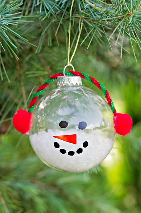 kid ornament craft ideas 30 diy tree ornament tutorials glue dots