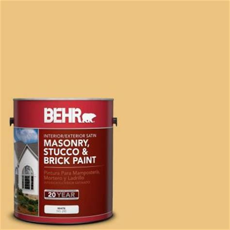 behr exterior brick paint colors behr premium 1 gal ms 36 mayan maize satin interior