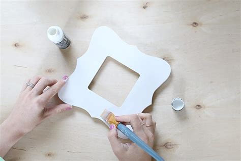 acrylic paint unfinished wood diy watercolor painted wooden picture frame how to sday
