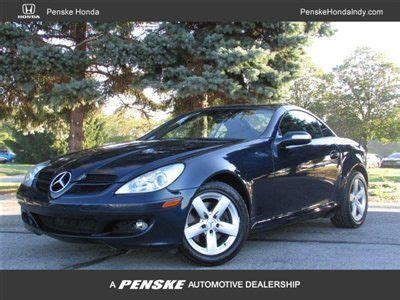 manual repair autos 2006 mercedes benz slk class electronic toll collection purchase used 2006 slk 280 navigation and rare manual transmission in indianapolis indiana