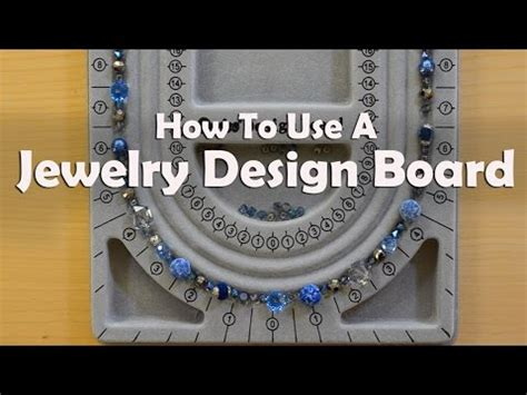 how to make a jewelry board how to make jewelry how to use a jewelry design board