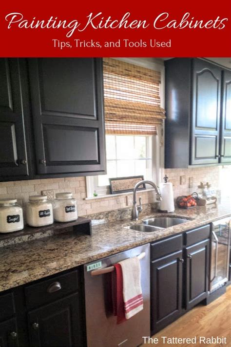 how to paint kitchen cabinets black best 25 black kitchen cabinets ideas on