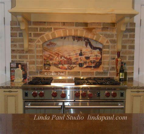 kitchen tile murals tile backsplashes the vineyard tile murals tuscan wine tiles kitchen backsplashes