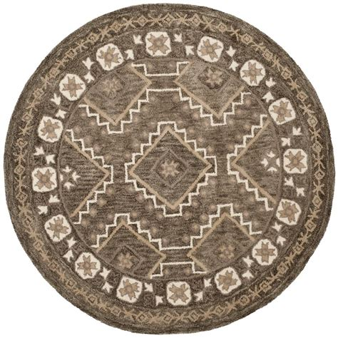 5 ft area rugs safavieh brown taupe 5 ft x 5 ft area rug