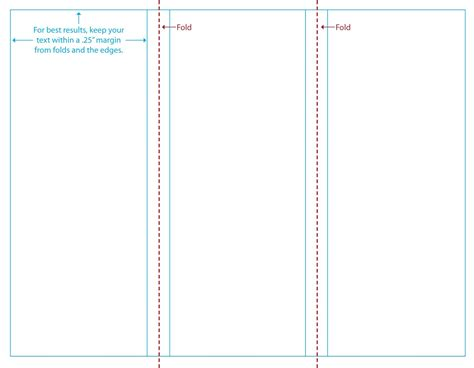 tri fold brochure templates best agenda templates
