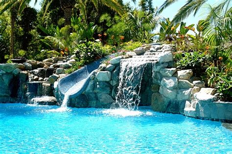 how to make a pool in your backyard breathtaking pool waterfall design ideas