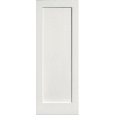 solid mdf interior doors jeld wen 30 in x 80 in molded smooth 2 panel square