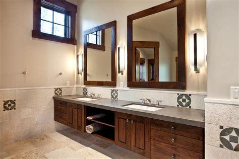 Framed Bathroom Mirror Ideas by Bathroom Mirrors Framed Wood Best Decor Things