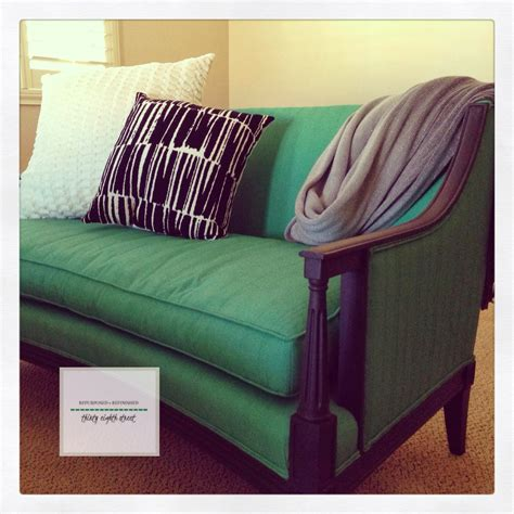 diy chalk paint on upholstery thirty eighth the berquist settee painting upholstery