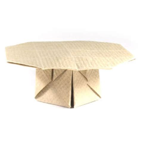 how to make origami table how to make an origami table page 1