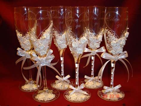 wine glass decorations diy wedding chagne glasses wedding theme ideas wine