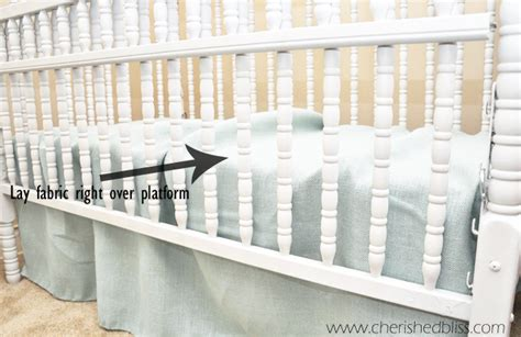 crib bed skirt diy crib bed skirt diy creative ideas of baby cribs