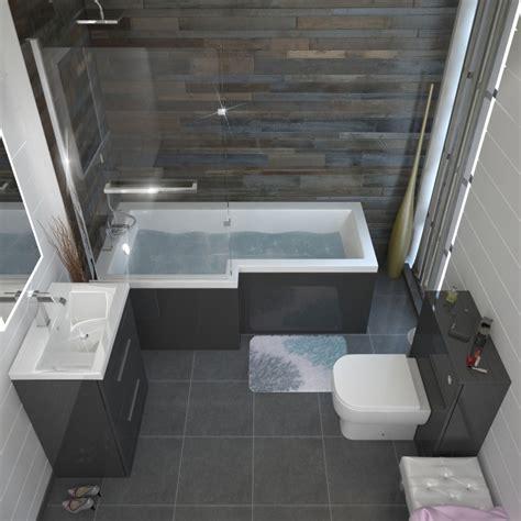 shower bathroom suites patello grey shower bath suite buy at bathroom city