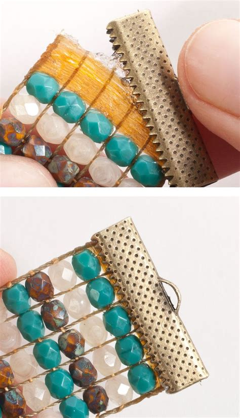 how to finish bead loom bracelet 17 best images about seed bead tutorials on
