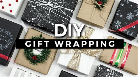 diy gift wrapping ideas 10 creative ways to wrap a