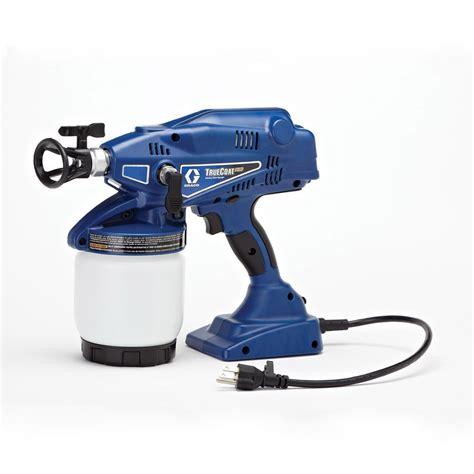 home depot paint sprayer return policy shop graco truecoat plus airless handheld paint sprayer at