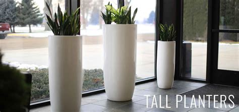 modern white planter modern planter pots boxes stylish plant containers