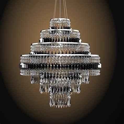bar chandelier 3d model bar chandelier