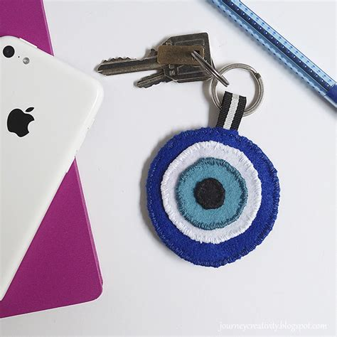 keychain crafts for eye felt keychain family crafts