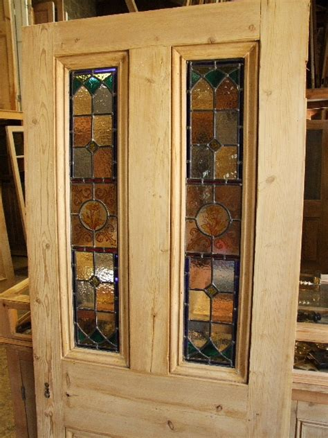 stained glass for front doors reclaimed antique and edwardian stained glass doors