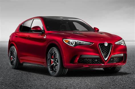 Car News by New Alfa Romeo Stelvio Quadrifoglio Suv Revealed