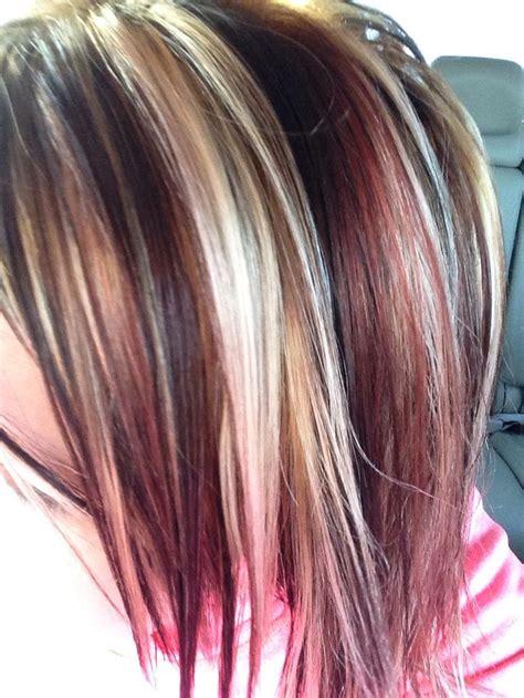 hair styles foil colours best 25 red foils hair ideas on pinterest red