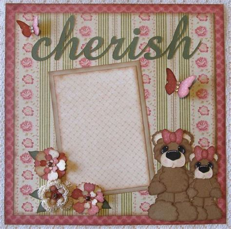 scrapbooking paper crafts you to see premade scrapbook pages shabby chic