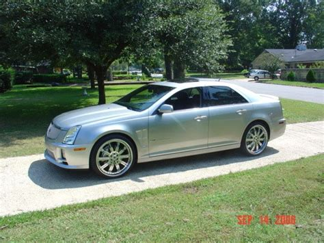 custom rubber sts large hilinemotorsport 2006 cadillac sts specs photos