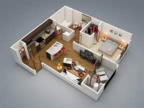 one bedroom design 50 one 1 bedroom apartment house plans architecture