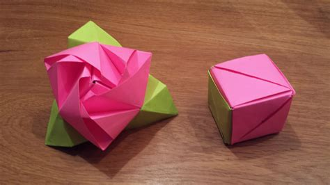 origami magic cube how to make an origami magic cube valerie vann