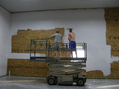 spray painting vs rolling spray paint or roll paint osb the garage journal board
