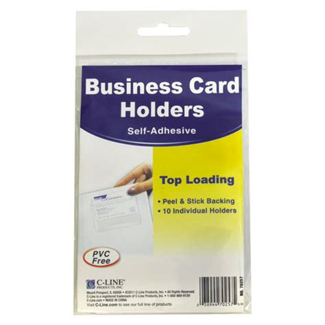 best adhesive for card self adhesive business card holders top load 3 1 2 x 2