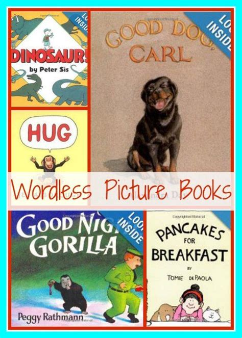 wordless picture books for children wordless picture books 30 days of reading with my
