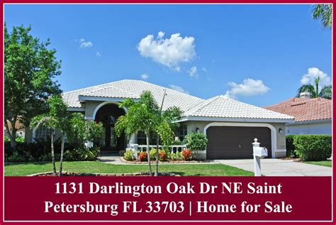 luxury homes st petersburg fl 1131 darlington oak dr ne st petersburg fl 33703 st