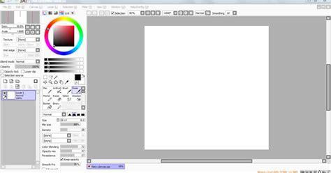 paint tool sai itu apa xavier cara dasar menggambar dengan paint tool sai