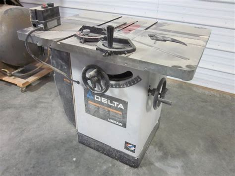professional woodworking supplies delta unisaw professional woodworking equipment auction