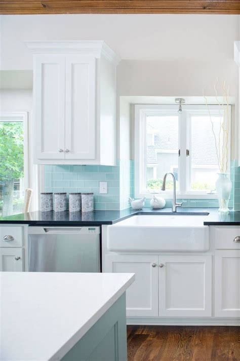 blue kitchen tile backsplash best 20 blue backsplash ideas on