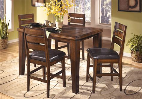 Height Dining Table Set Larchmont Square Counter Height Dining Table And 4 Chairs Overstock Warehouse