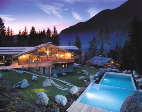 a luxurious chalet that can be renter in the