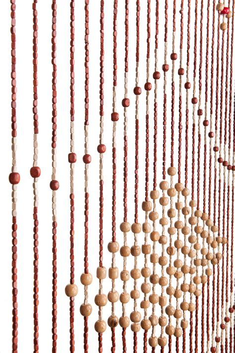 wood bead curtain home decoration accent door contemporary curtains