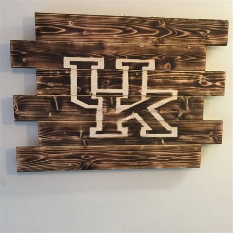 woodworking ky of kentucky wood sign